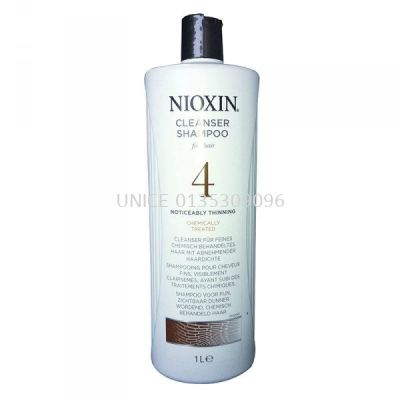 Nioxin System 4 Cleanser (New)