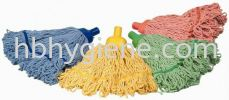 Full Colour Dolly Mop Head (Looped End) Mop Head, Handle Cleaning Equipment