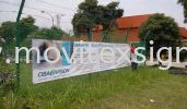 Vacancy job banner /Welcome visitors /election /birthday party  Banner and Bunting / Roll Up Banner / Pop Up System / Mini Flat