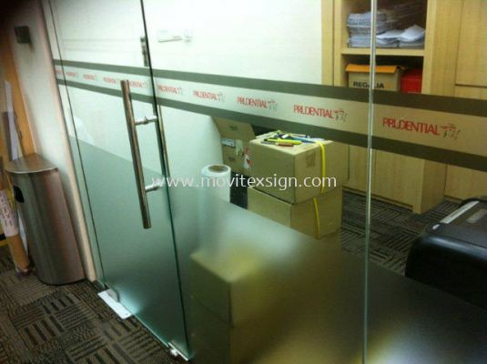 Glass tinted film &Decorative view