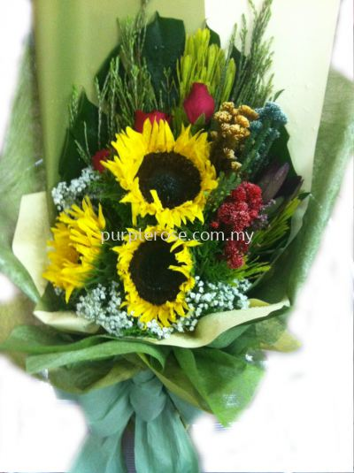 Sunflower/Daisy Bouquet02-You Light Me up(SGD52)