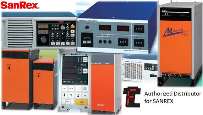 SANREX Power Supply HKD1530F for Metal Surface Treatment Malaysia
