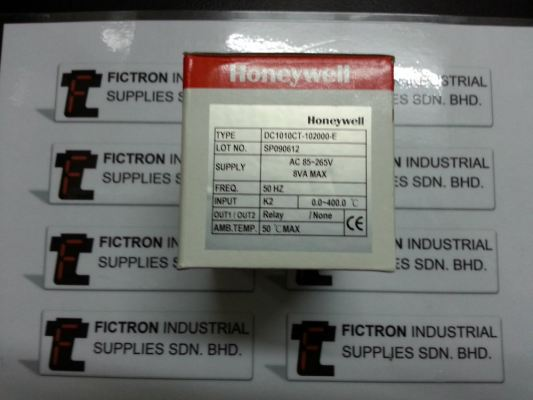 DC1010CT-102000-E DC1010CT HONEYWELL Temperature Controller Malaysia Singapore Thailand Indonesia