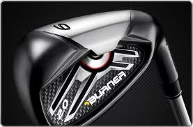 TaylorMade Burner 2.0 Steel irons 5-9,pw,aw,sw