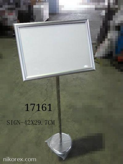 17161-XJ-A027-118CM-H SIGN STAND