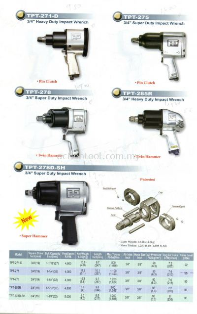 3/4'' Impact Wrench