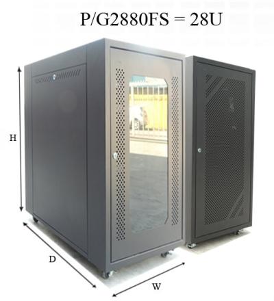 28U Floor Stand