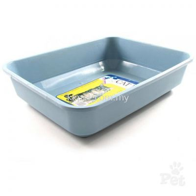 Cat Litter Tray Blue