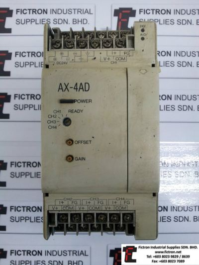 Repair Service in Malaysia - AX-4AD Shihlin Electric PLC