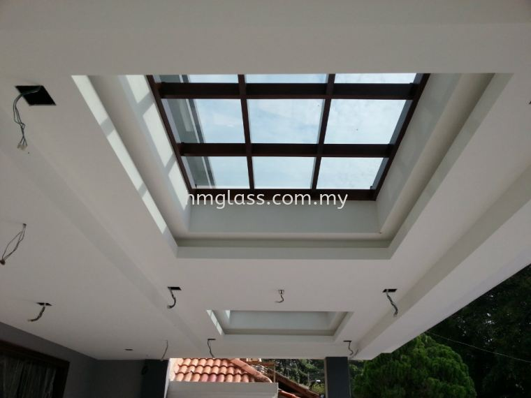 Balcony and Skylight