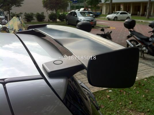 suzuki swift sport zc31s wing spoiler greddy style for swift add on performance look real carbon fiber material new set