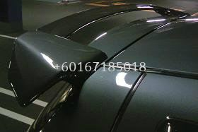 suzuki swift spoiler craft style for swift add on upgrade craft style performance look real carbon fiber material new set