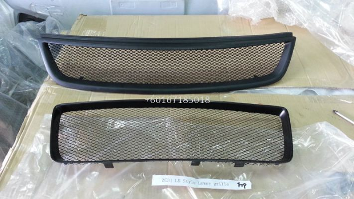 2005 2006 2007 2008 2009 2010 2011 suzuki swift zc31s sport front grille lower grille trim chargespeed style swift sport replace upgrade performance look real carboon fiber material new set