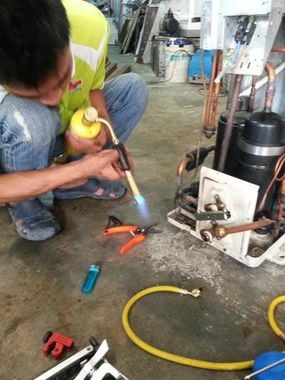 Change Compressor