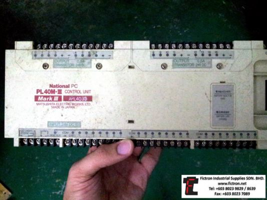 Repair Service in Malaysia - NATIONAL PC PL40M-III Control Unit Mark III APL4035 Thailand Singapore