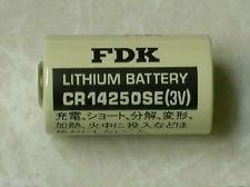 CR14250SE 3V 1/2AA  FDK Battery  Malaysia Singapore Thailand Indonesia