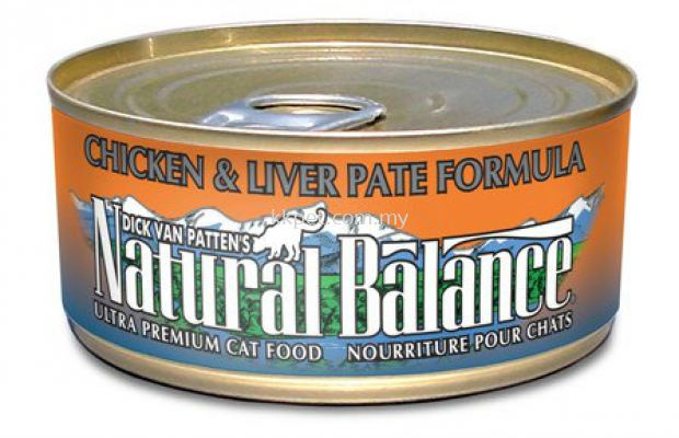 Natural Balance Chicken & Liver Pate Formula