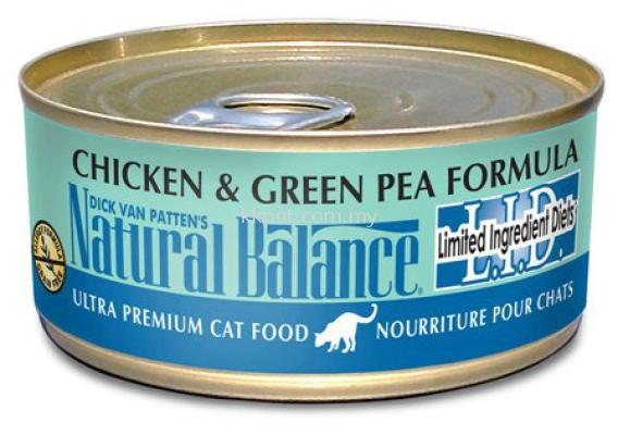 Natural Balance Chicken & Green Pea Formula