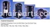 Copeland - piston & scroll type Compressors Air - Cond Parts