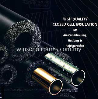 Closed Cell Insulation Tubing & Sheet