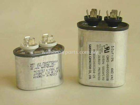 Capacitor For Blower & Condensor Fan Motor