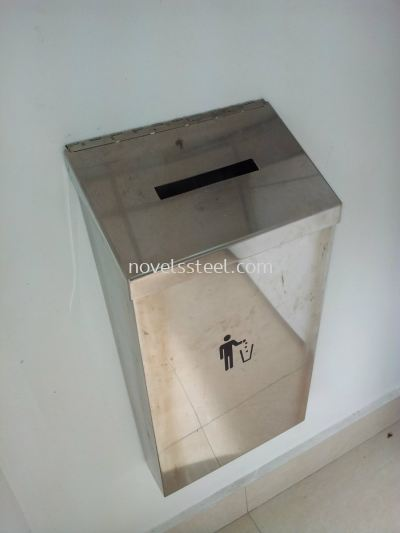 Stainless Steel Dustbin 001