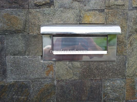 Stainless Steel Letter Box 004