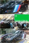 BMW Car Sticker at we one auto station !!! Others
