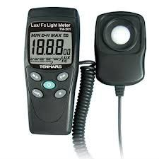 TM-201  TENMARS Digital LED Light/Lux Meter Luminometer  Malaysia, Singapore, Thailand & Indon