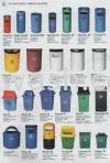 Polyethylene / Fiberglass Bins Recycle Bin & Tong Sampah