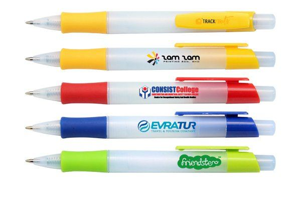 PP036 Push Action Ball Plastic Pen