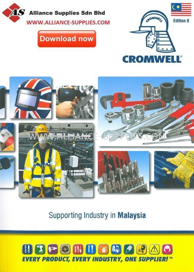 CROMWELL MALAYSIA EDITION 9 CATALOGUE- AVAILABLE IN WWW.ALLIANCE-SUPPLIES.COM