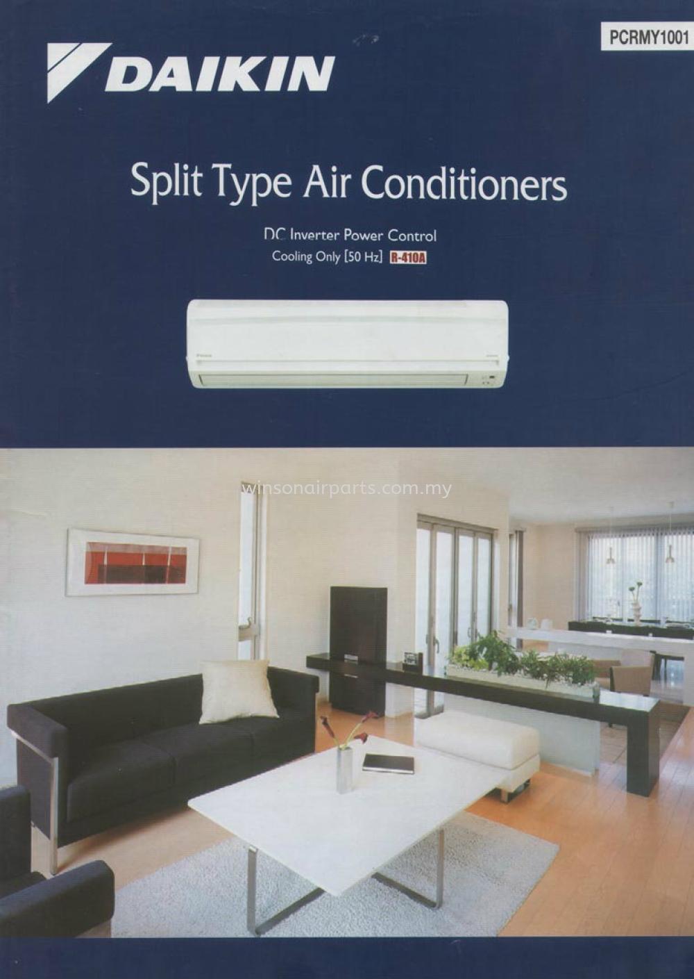 Split Type Air Conditioners Daikin - Unitary Air - Cond Products Skudai, Johor Bahru (JB), Malaysia. Suppliers, Supplies, Supplier, Repair   Winsonair Conditioning Sdn Bhd