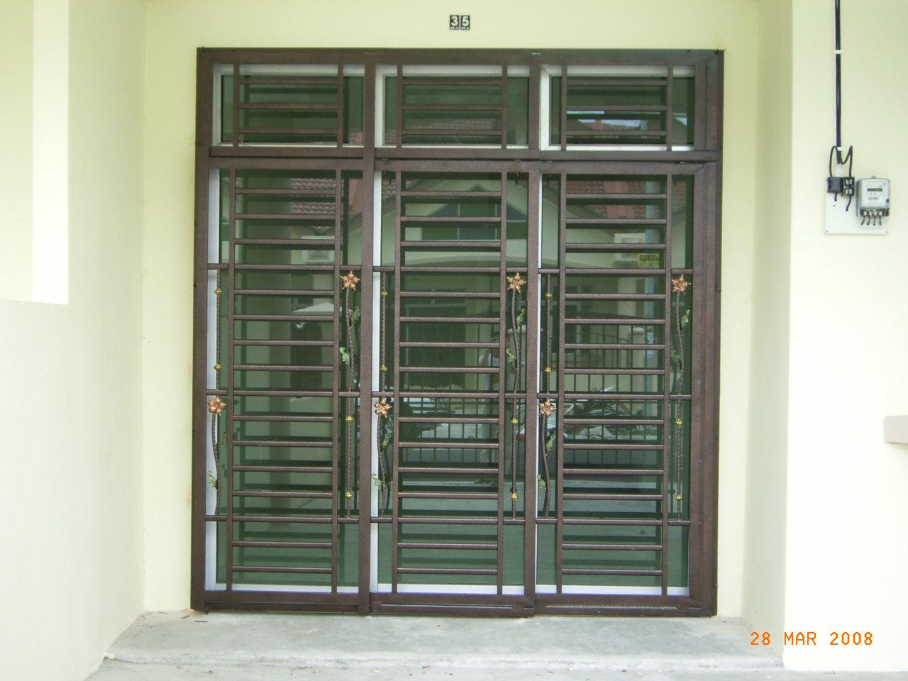 Sd2 Sliding Door Grille Johor Bahru Jb Design Installation & Sliding Door Grille - Saudireiki Pezcame.Com