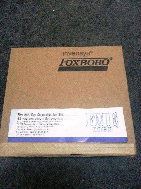 INVENSYS FOXBORO RTT20I1BNQFND1 S10A12210000 INDONESIA MALAYSIA SINGAPORE AUSTRALIA