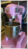 Colourful universal flour mixer - Pink 10L  Colourful 10L  Bakery Equipment-Mixer (Commercial)