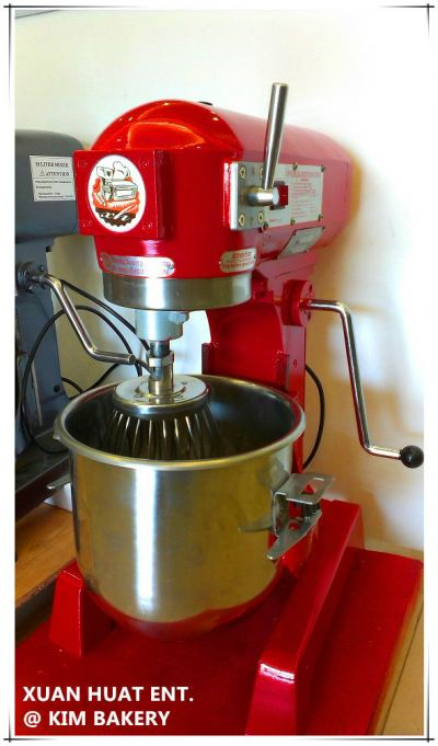 Colourful universal flour mixer - Red 10L