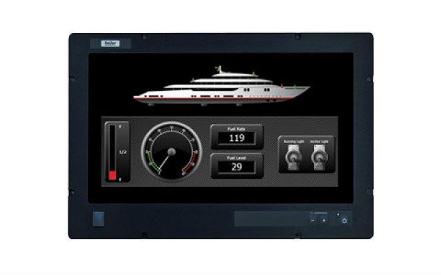 EPC T240 C2D  EPC-T240-C2D  EPC/T240/C2D Nautic  23;quot; Widescreen Maritime Touch Panel PC Beije