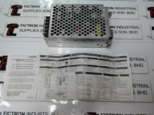 S8PS-10024-CD S8PS/10024/CD OMRON Power Supply Malaysia, Singapore, Thailand, Indonesia & Viet