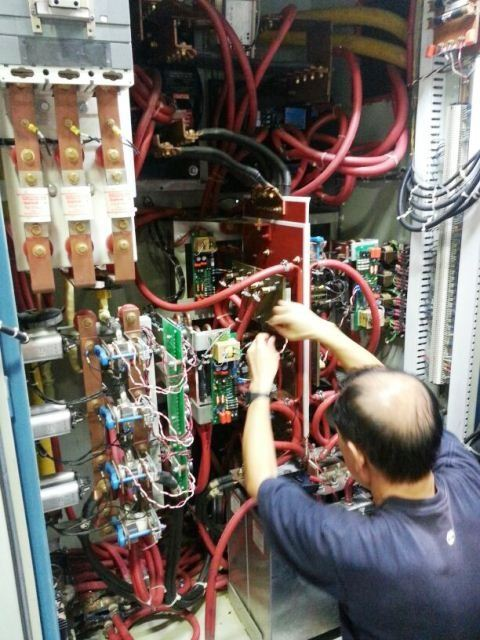 PILLAR INDUCTION INVERTER 150KW 3 KHZ AB7101-502/MK11 REPAIR SINGAPORE MALAYSIA INDONESIA THAILAND