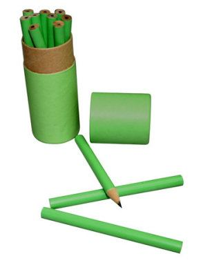 ECO030 12pcs Wooden Pencil Set