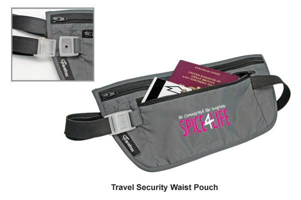 TS12-1 Travel Security Waist Pouch