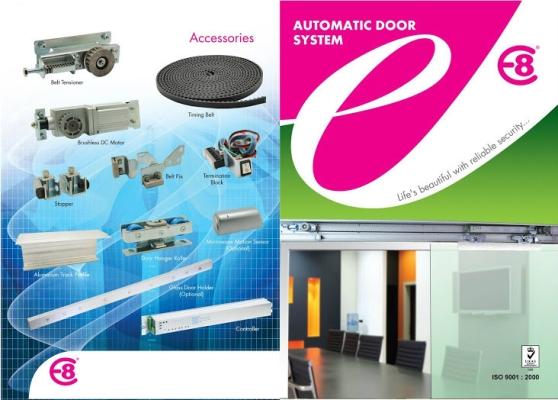 E8 Automatic Door System - Model E-6000