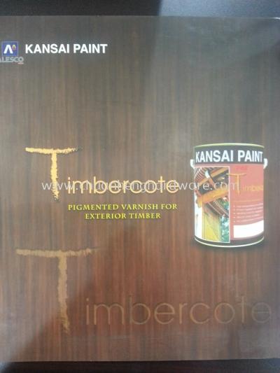 kansai timbercote pigmented varnish for exterior timber