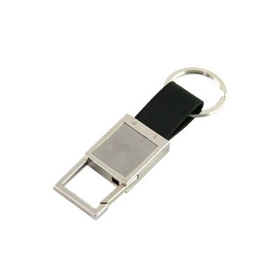 KH025 Metal Keychain With Square Hook