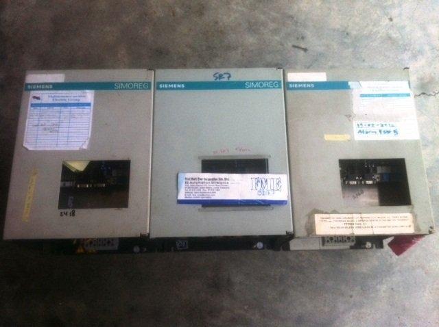 SIEMENS SIMOREG DC DRIVE CONTROLLER 6RA5025-3PA02 MALAYSIA SINGAPORE INDONESIA BRUNEI