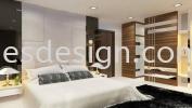Bedroom design 3D Drawing Design