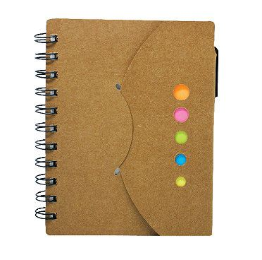 ECO056 Sticky notepad with Pen