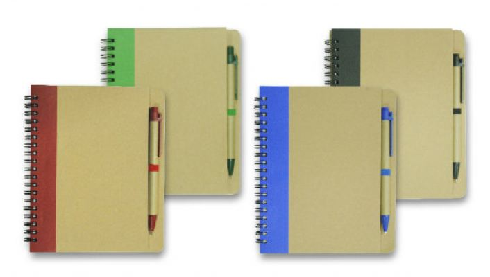 ECO051 Notepad with Pen
