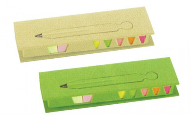 ECO045 Sticky Note Set with Pen
